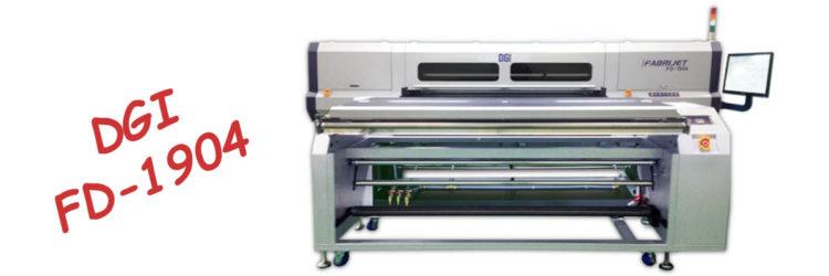 Текстилен принтер за директен печат DGI FD-1904