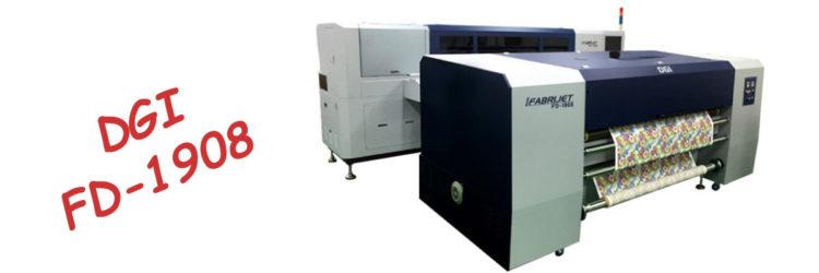 Текстилен принтер за директен печат DGI FD-1908