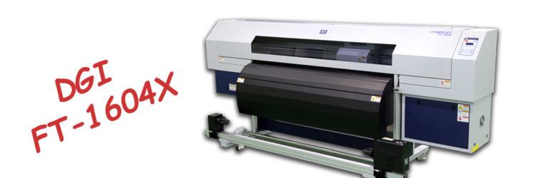 Текстилен принтер за сублимационен печат DGI FT-1604X