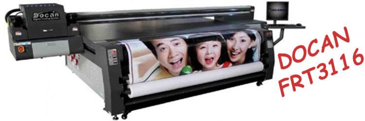 UV Hybrid Printer DOCAN FRT3116