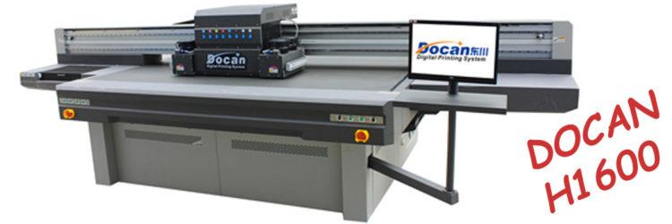 UV Flatbed Printer DOCAN H1600