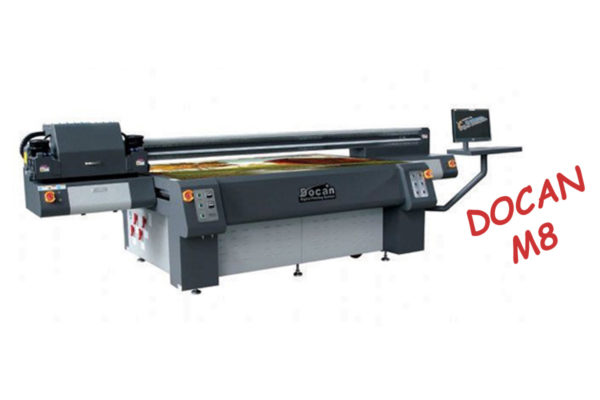 UV Flatbed Printer DOCAN M8