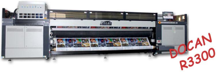 UV Roll to Roll Printer DOCAN R3300
