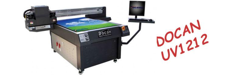 UV Flatbed Printer DOCAN UV1212