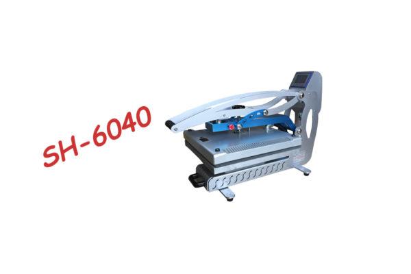 Термопреса за тениски с подвижна долна част 60х40 и автоматично отваряне SH-6040